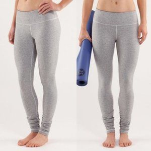 Lululemon Ghost Herringbone Wunder Under Legging